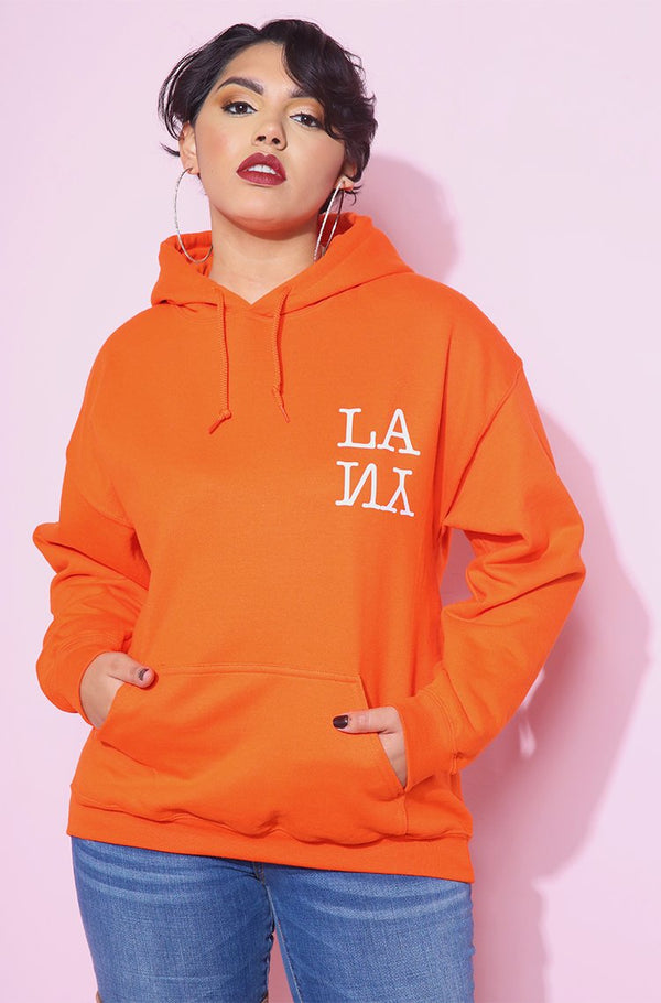 Orange Hoodie plus sizes