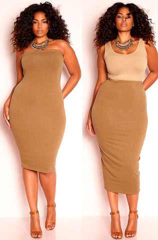 "Rebdolls ""Guess It"" Maxi Dress With Pockets"