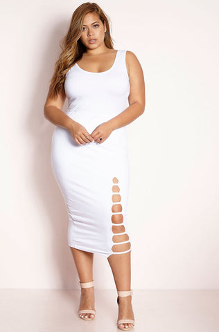 "Rebdolls ""The Queens Vow"" Turtleneck Skater Midi Dress"