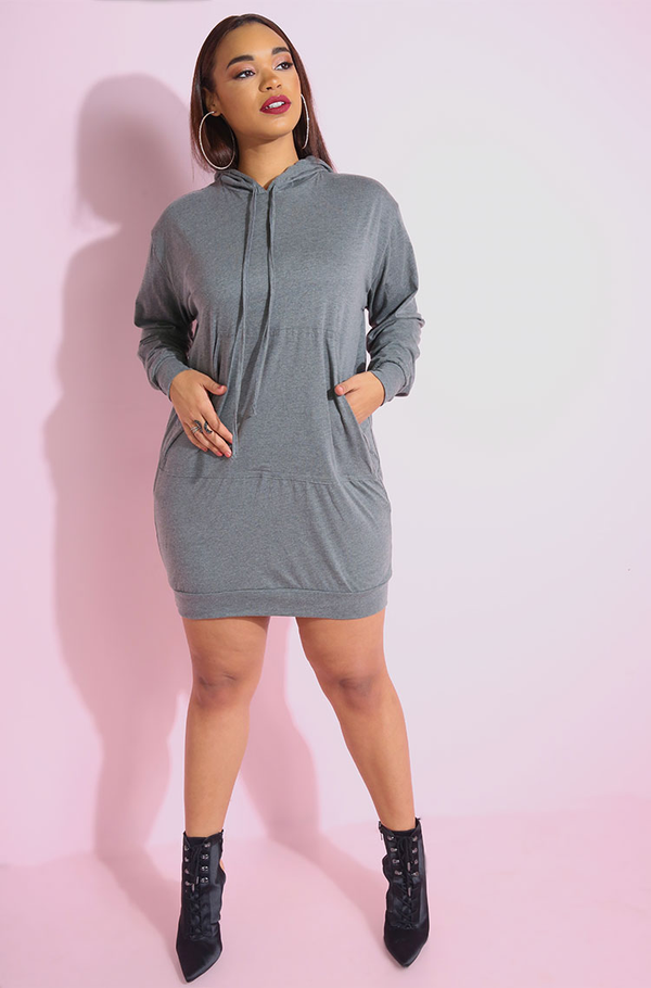 "Rebdolls ""In Your Head"" Sweatshirt Style T-Shirt Mini Dress"