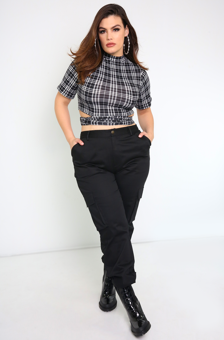 "Rebdolls ""Well Played"" Cargo Pants"