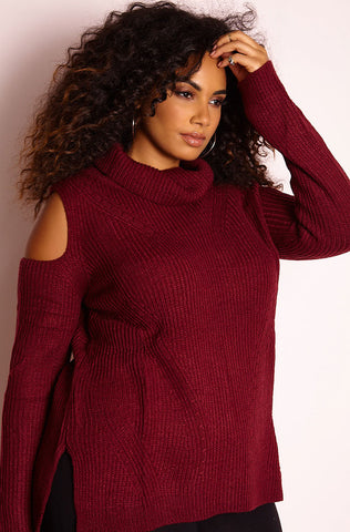 "Rebdolls ""Thinking Out Loud"" Oversized Fleece Coat"