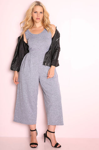 "Rebdolls ""Not Thinking About You"" Crossover Jumpsuit"