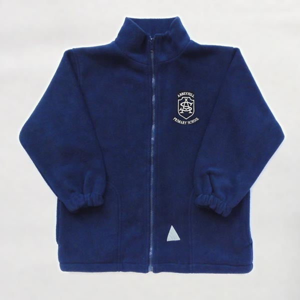 Abbeyhill Primary School - Navy Fleece Jacket
