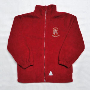 Abbeyhill Primary School - Red Fleece Jacket