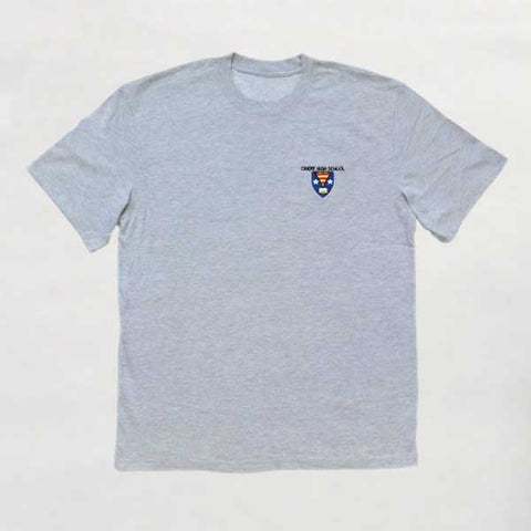 Crieff High School - Grey T-shirt