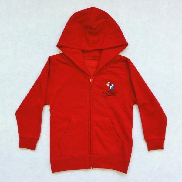 Loretto Nursery - Full zip hooded sweatshirt
