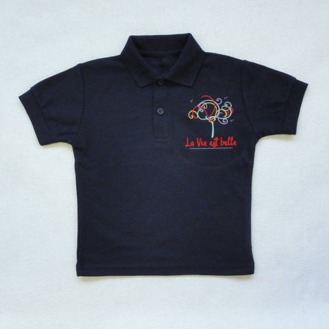 École Internationale Maria Montessori - Chemise Polo