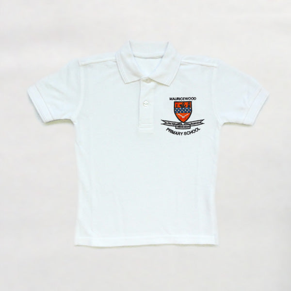 Mauricewood Primary School - White Polo Shirt