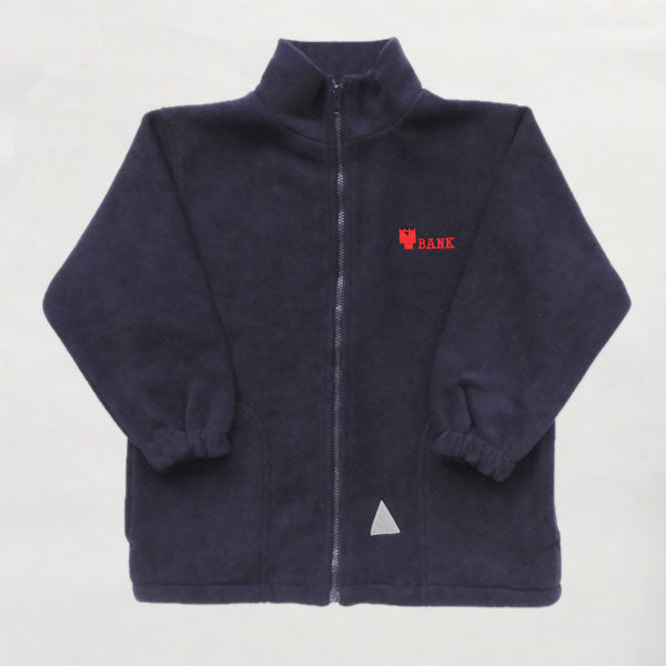 Towerbank Primary School - Black Fleece Jacket