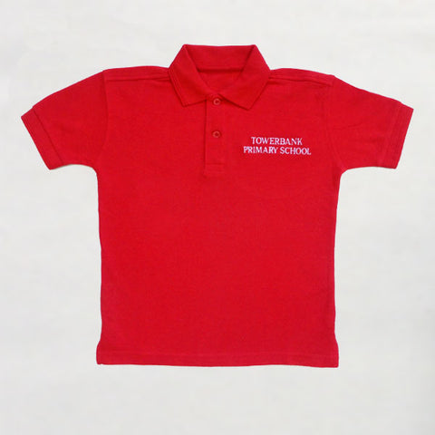 Towerbank Primary School - Red Polo Shirt