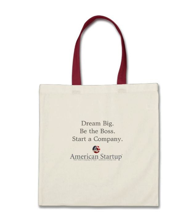 Dream Big Small Business Startup Tote