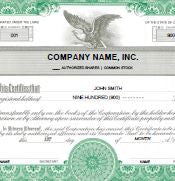 Digital Corporation Stock Certificate - California
