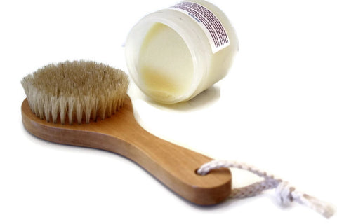 Natural Dry Body Brush for Exfoliating & Cellulite Aid (Minimum 6) - Wild Violetta  - 6