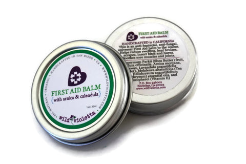 First Aid Healing Balm for Bruises, Scrapes & Boo Boos