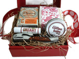 Foodie Gift Set for the Cook and Wine Lover in Your Life / Luxurious Soap, Balms and Gift Items / Gift Box for the Wine and Foodie Lover