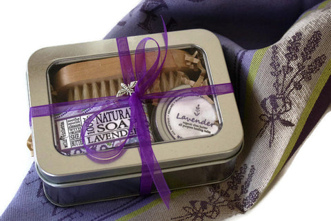 Lavender Gift Tin / Home and Garden Gift / Flower Shop Must Have