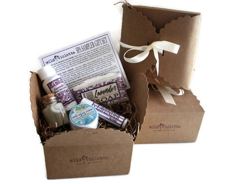 Spa Gift Box / Best Selling Natural Beauty Spa Sampler Set