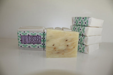 Natural Soap Ginger and Lime Loved by Men // Made with Shea Butter and Essential Oils / Big 5 oz bar - Wild Violetta  - 5