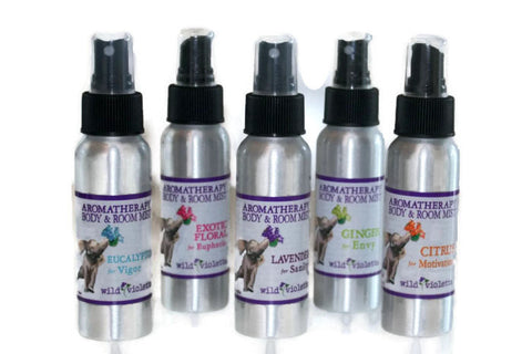 Aromatherapy Room Mist Spray (Minimum 6) - Wild Violetta  - 2