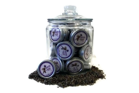 36 Lavender Healing Organic Shea Hand Balms in Glass Jar