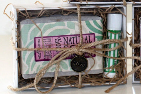 Soap and Lip Balm Gift Box (Minimum 6) - Wild Violetta  - 3