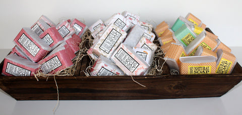 Guest Soap Bars / Shea Butter Soaps Select your Scent - Wild Violetta  - 2