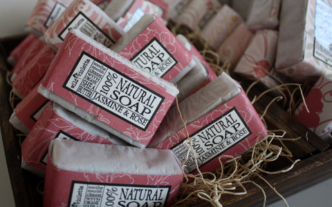Guest Soap Bars / Shea Butter Soaps Select your Scent - Wild Violetta  - 3