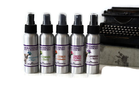 Aromatherapy Room Mist Spray (Minimum 6) - Wild Violetta  - 3