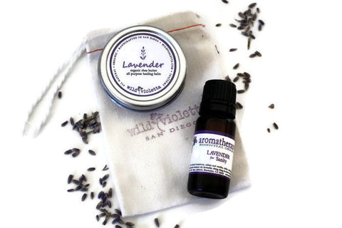Lavender Essential Oil / Pure Essential Oil - Wild Violetta  - 3