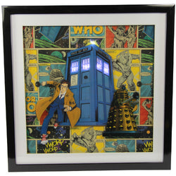 Doctor Who LED Shadow Box