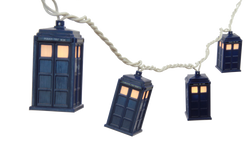Doctor Who Tardis String Lights - Showtimesavvy  - 1