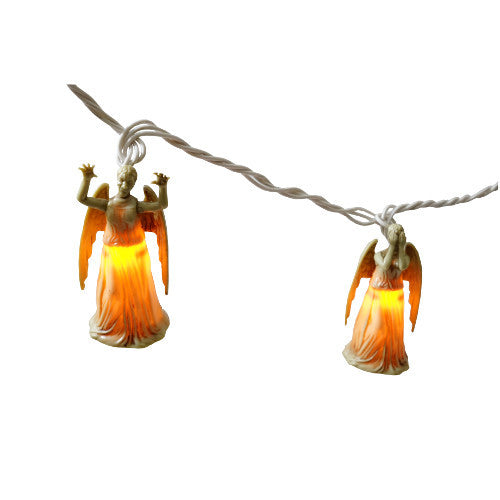 Doctor Who Weeping Angel String Lights - Showtimesavvy  - 2