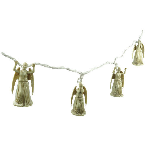 Doctor Who Weeping Angel String Lights - Showtimesavvy  - 3