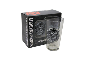 Sons of Anarchy 16oz. Pint Glass (Set of 2) - Showtimesavvy  - 2