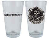 Sons of Anarchy 16oz. Pint Glass (Set of 2) - Showtimesavvy  - 1