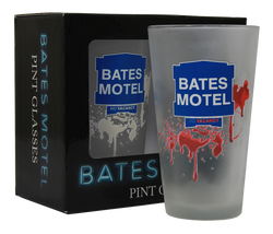 Bates Motel Color Changing Pint Glass 2pc Gift Set - Showtimesavvy  - 1