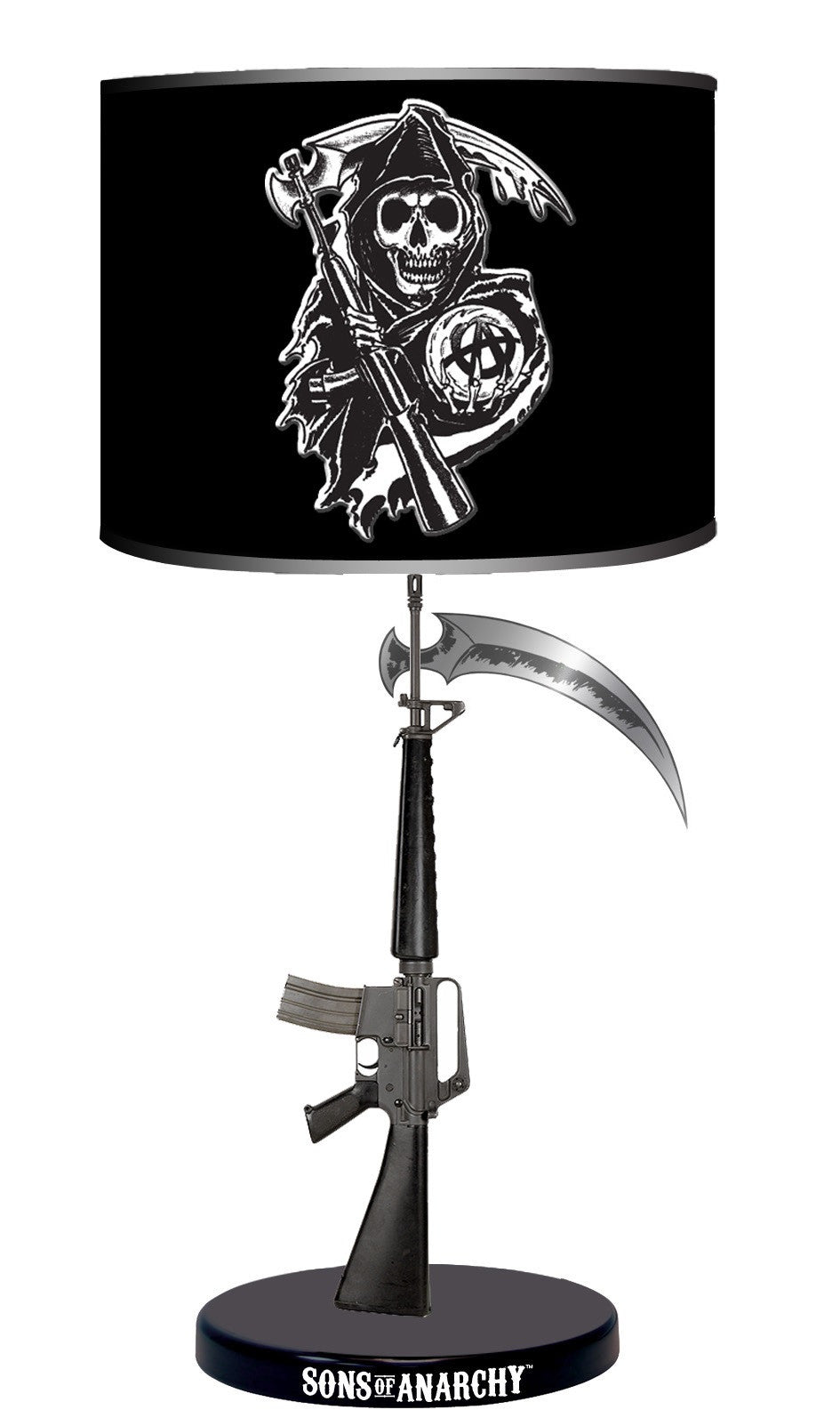Sons of Anarchy Table Lamp - Showtimesavvy