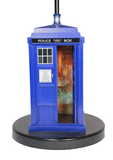Doctor Who Flashing Tardis Pattern Table Lamp - Showtimesavvy  - 2