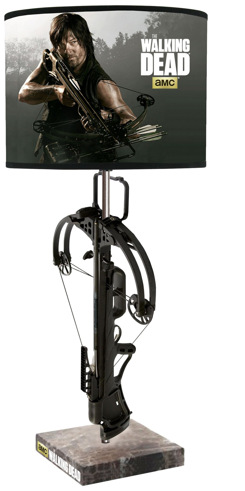 The Walking Dead Daryl Dixon Crossbow Lamp - Showtimesavvy