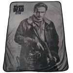 The Walking Dead Rick Grimes Fleece Throw - Showtimesavvy  - 2