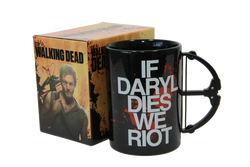 The Walking Dead Daryl 15oz Crossbow Mug - Showtimesavvy