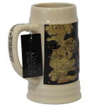 Game of Thrones 22oz Ceramic Map Beer Stein - Showtimesavvy  - 1