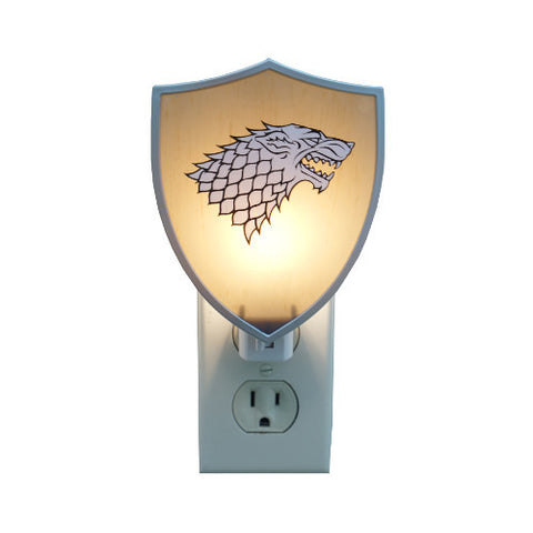 Game Of Thrones Shield Night Light - Stark - Showtimesavvy
