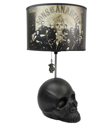 Sons of Anarchy Skull Table Lamp - Showtimesavvy  - 1
