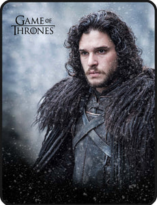 Game of Thrones Jon Snow Fleece Throw Blanket