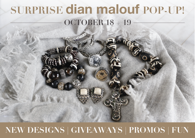 Dian Malouf Fall Trunk Show: October 18 & 19