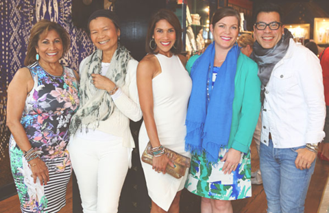 Chan Luu Bazaar & Dress For Success Event