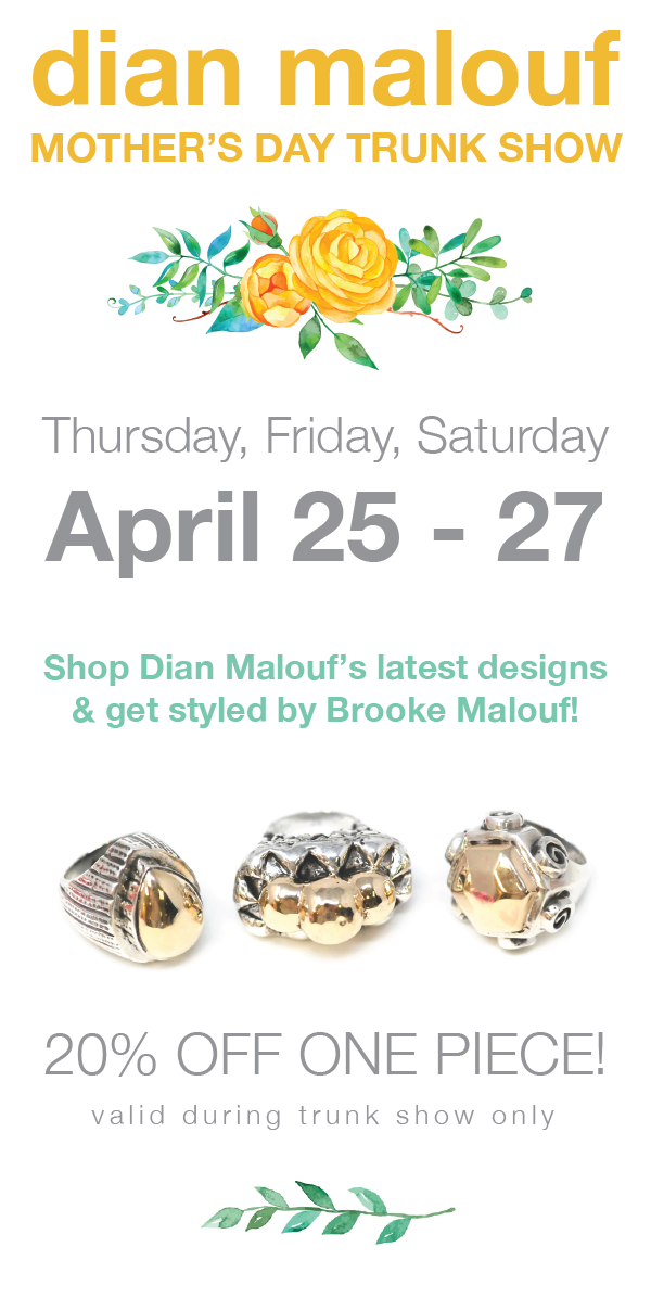 Dian Malouf Jewelry Trunk Show Houston