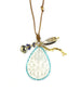 Chan Luu Mother of Pearl Shell Charm Necklace